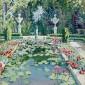 Jane Peterson, Tiffany's Garden, c. 1913