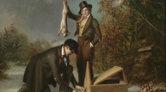 "William Sidney Mount, ""Catching Rabbits,"" 1839"