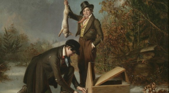 "William Sidney Mount, ""Catching Rabbits,"" 1839"